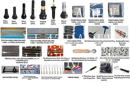Tyre Valve Stem TR412 25mm 4 Valves Tubeless Valve