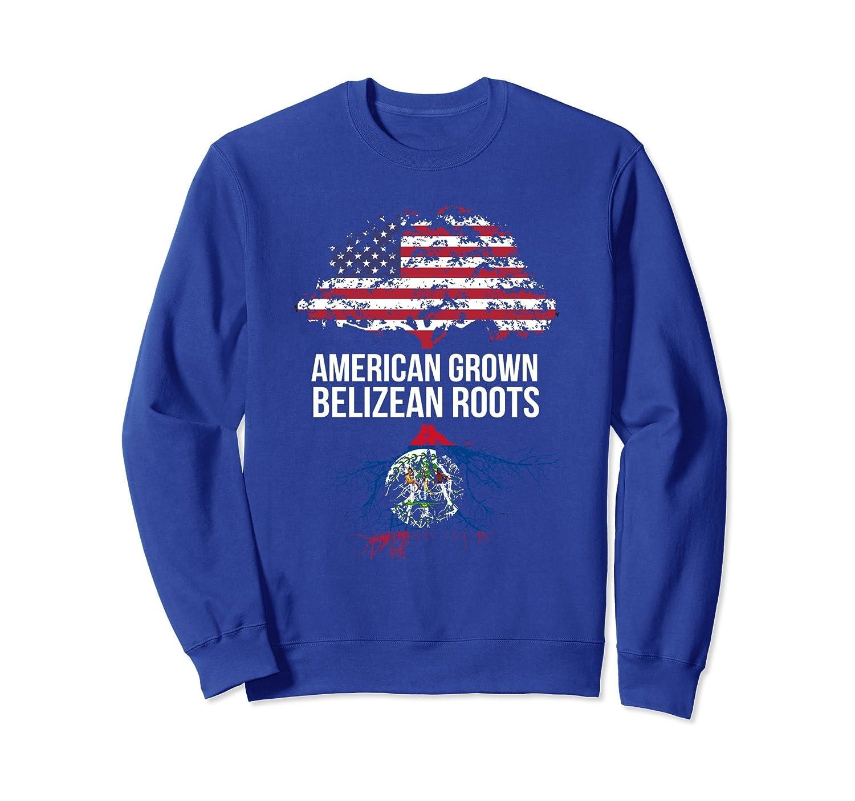 American Grown with Belizean Roots Sweatshirt Belize-TH