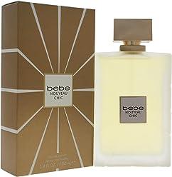 Bebe Nouveau Chic Eau de Parfum Spray, 3.4 Ounce