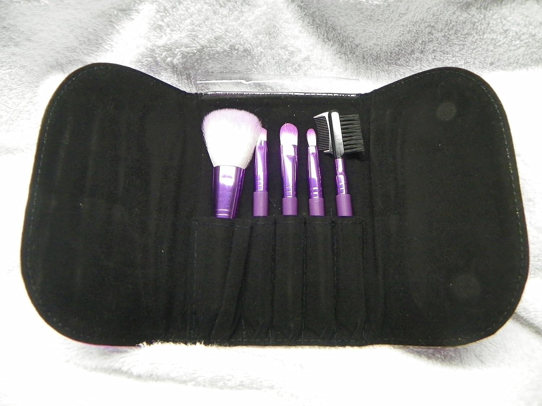 Amazon.com: Mac 5 piezas Juego de cepillo para polvo de ...