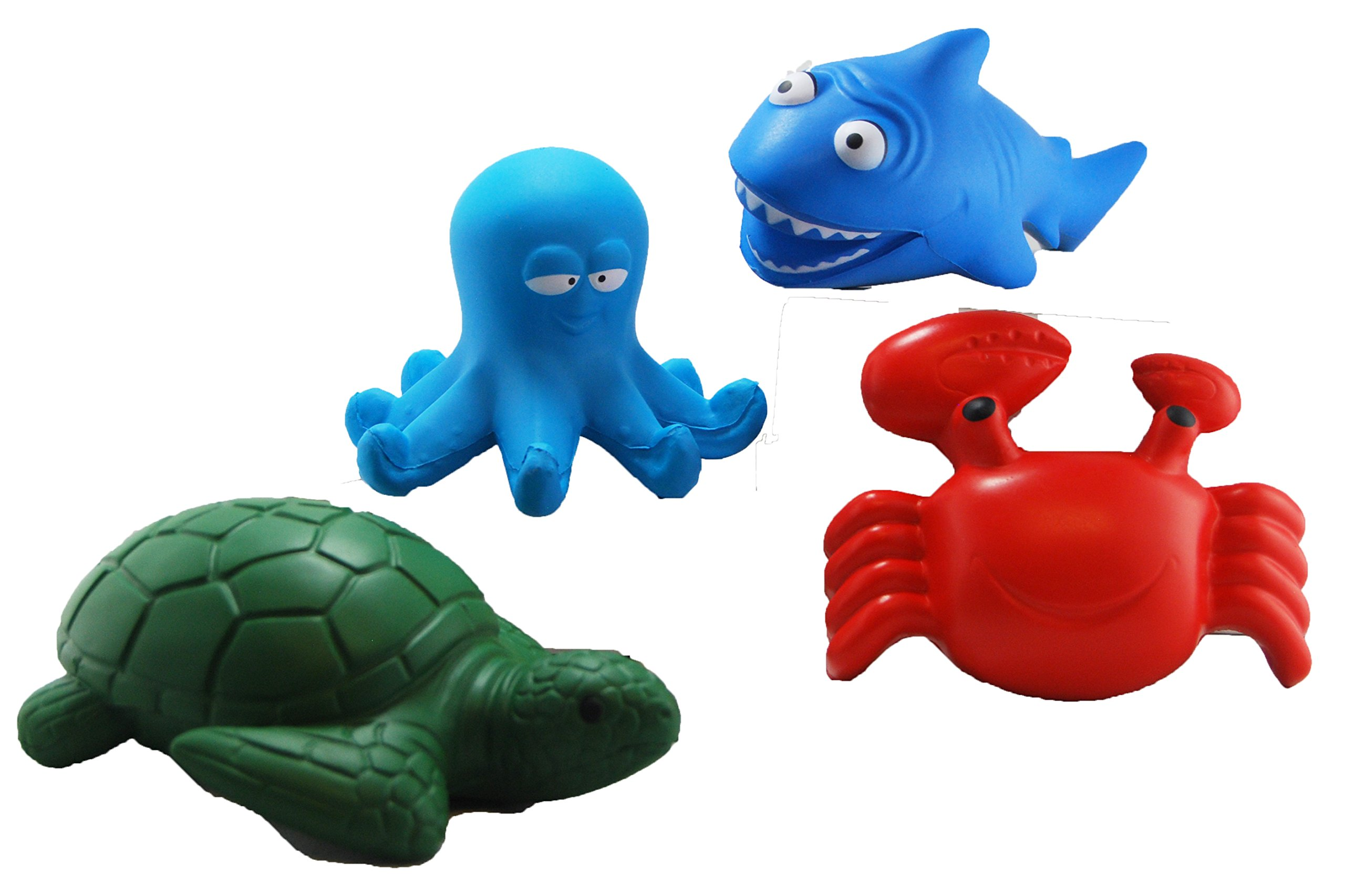 CutieLine Ocean Friends Stress Toys with Shark, Sea Turtle, C by CutieLine