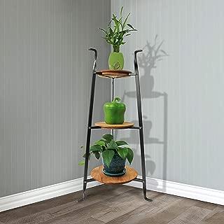product image for Handcrafted 3-Tier Designer Stand w Alder Shelves