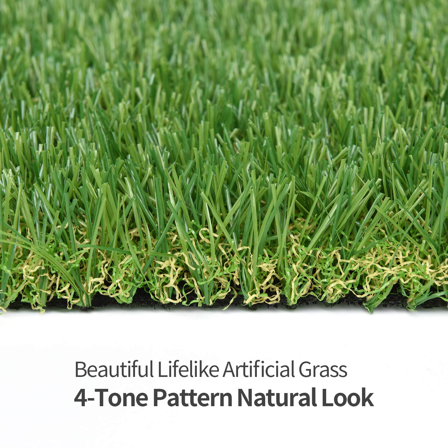 RoundLove Artificial Turf Lawn Fake Grass Indoor Outdoor Landscape Pet Dog Area (40X80 in) by RoundLove (Image #5)
