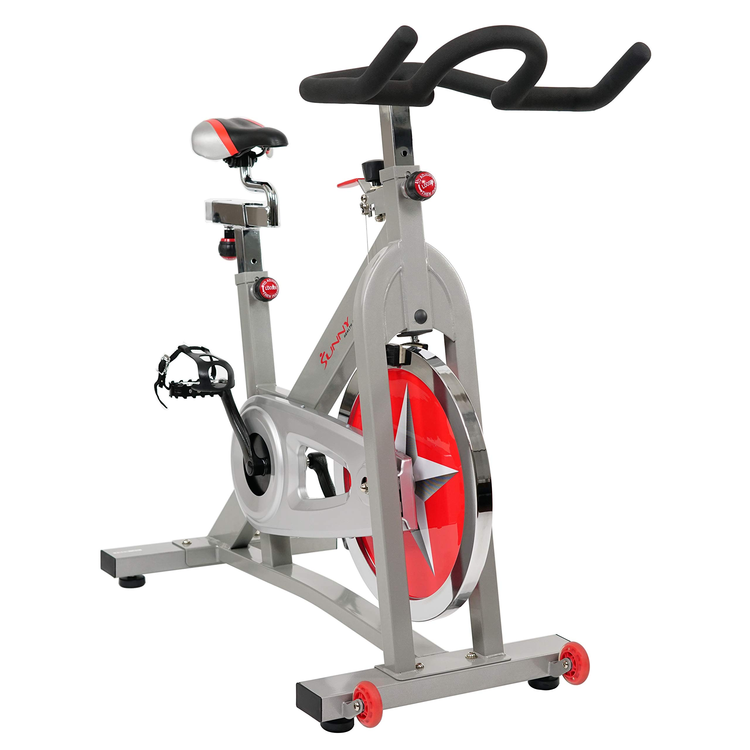 Sunny Health & Fitness Pro Indoor Cycling Bike by Sunny Health & Fitness (Image #2)