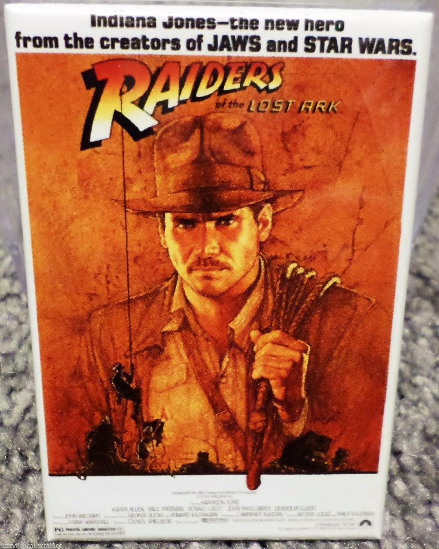 "Indiana Jones Raiders Lost Ark 2/"" x 3/"" MAGNET Refrigerator Locker Image 1"
