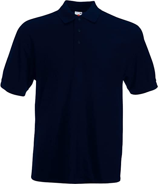 Fruit of the Loom - Polo-Shirt 'Piqué Polo 65/35' deep