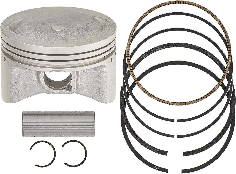 Wiseco Piston Gaskets Kodiak 400 00-06 *STD//84.5mm//10.5:1* Top End Rebuild Kit