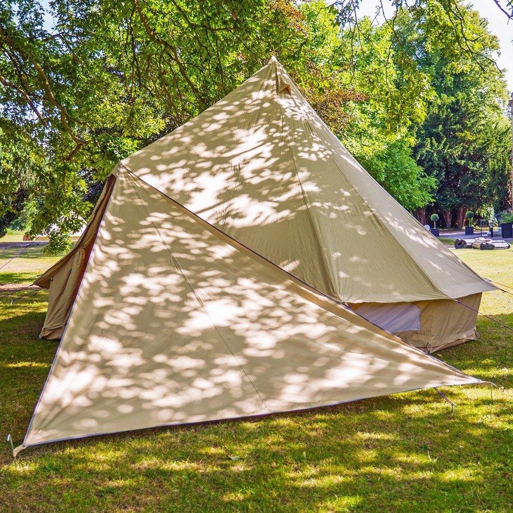 Boutique Camping Bell Zelt Triangle Plane – Sandstein
