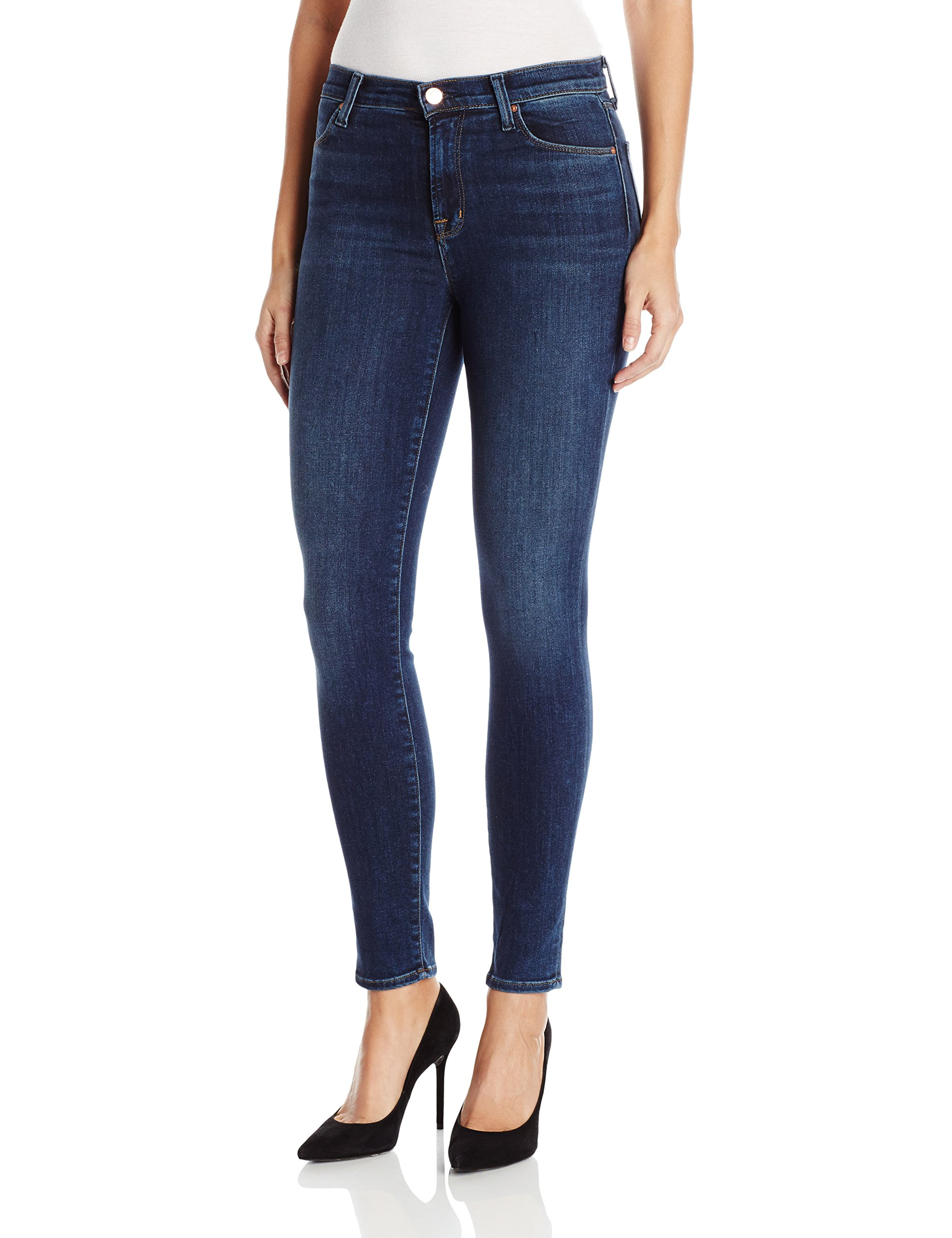 J Brand Jeans Women's 23110 Maria High Rise Skinny Jean, Fleeting, 25