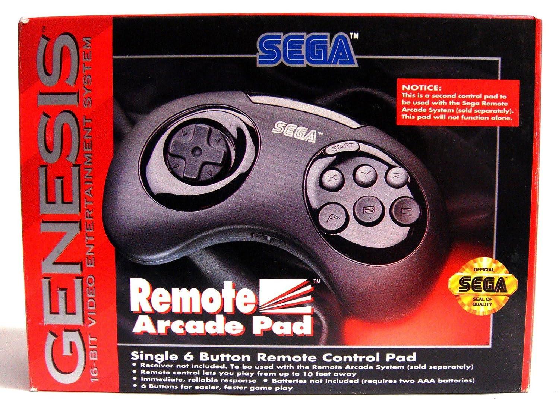 Remote Arcade Pad - Sega Genesis