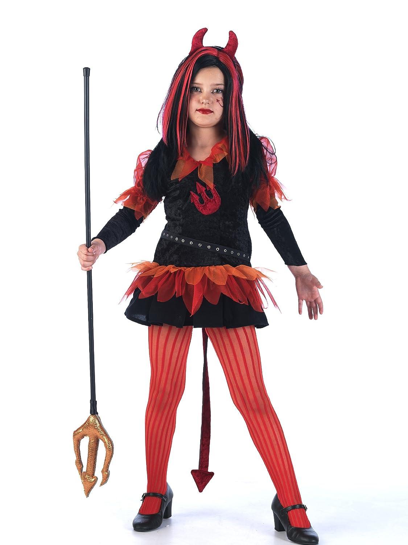 Limit Sport MI721 Gr. 4 - Disfraz de vampiresa para niña (talla 4 ...