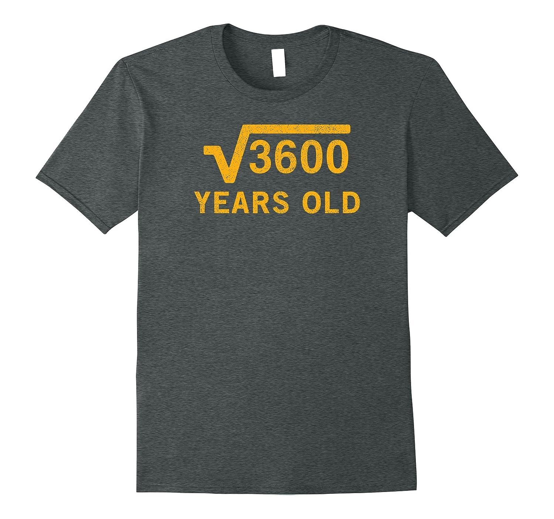 Square years Birthday tshirt Black-Teeae