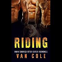 Riding: MMM Shapeshifter Biker Romance (English Edition)