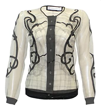 c2f499f937c36 Attuendo Women s Hand Embroidered Sheer Jacket at Amazon Women s ...