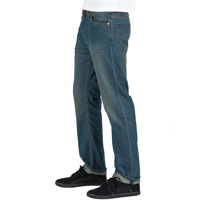 Volcom Mens Solver Denim Jean
