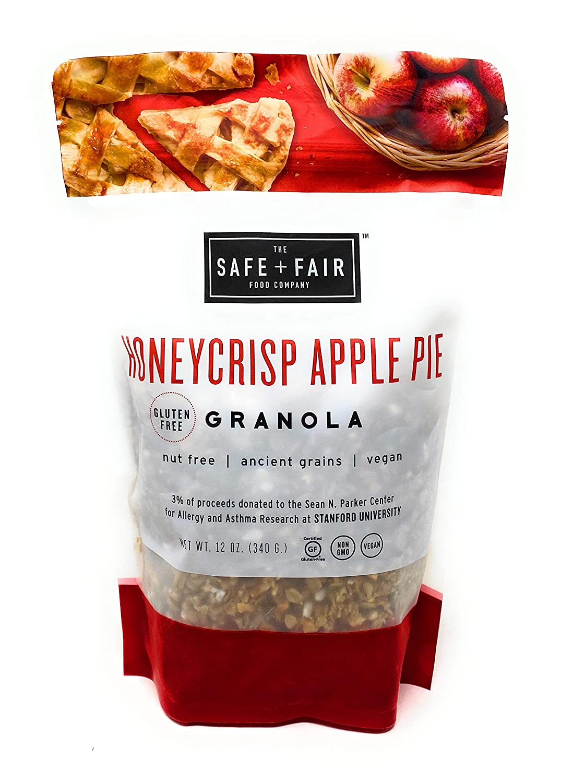 The Safe + Fair Food Company Honey Crisp Apple Pie Granola Cereal ~ 12 oz