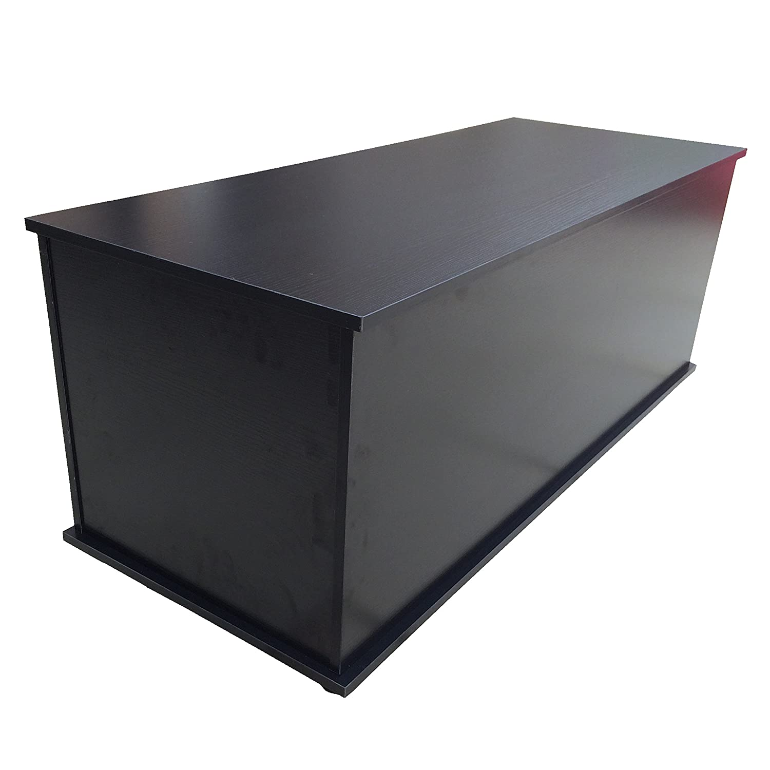 Redstone Black Ottoman Storage Chest - Hinge can be Locked with Pin to  Prevent Lid from Dropping when Open: Amazon.co.uk: Kitchen & Home - Redstone Black Ottoman Storage Chest - Hinge Can Be Locked With