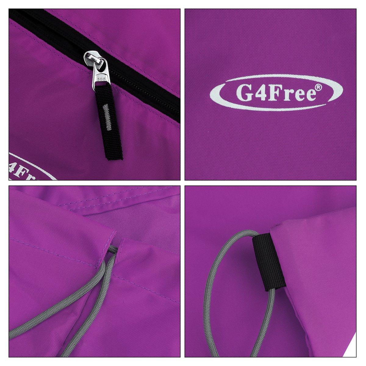 Sac de sport//Sac /à dos//Sac de piscine//sac d/'/école G4free avec cordon de serrage pour adultes et enfants