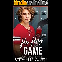 He Has Game: A Bad Boy Fake Fiancee Romance (Boston Brawlers Hockey Romance)