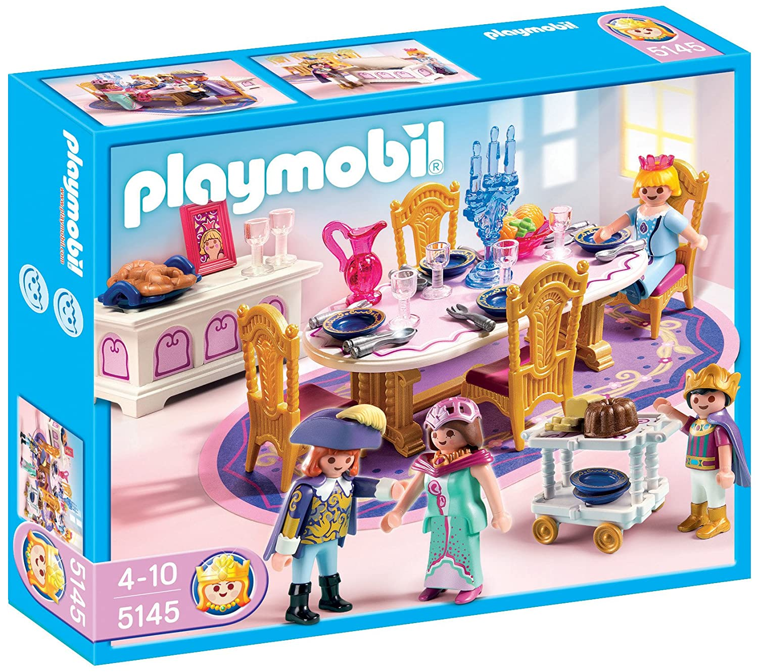 latest playmobil jeu de salle manger royale amazonfr jeux et jouets with chambre princesse playmobil. Black Bedroom Furniture Sets. Home Design Ideas