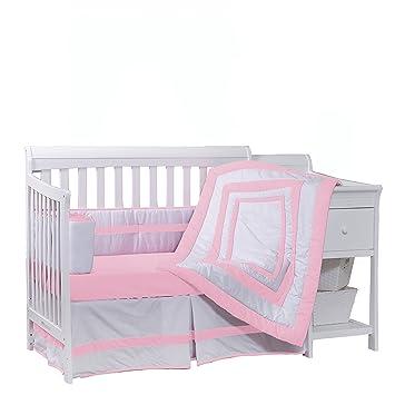 Ivory BabyDoll Modern Hotel Style Cradle Bedding set