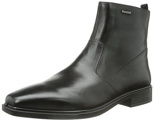 Geox U Alex A ABX, Botines para Hombre, Schwarz (BLACKC9999), 46 EU: Amazon.es: Zapatos y complementos