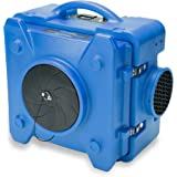 BlueDri AS-550 Blue Air Scrubber HEPA Air Filtration System Negative Air Machine Airbourne Air Cleaner HEPA Air Scrubber