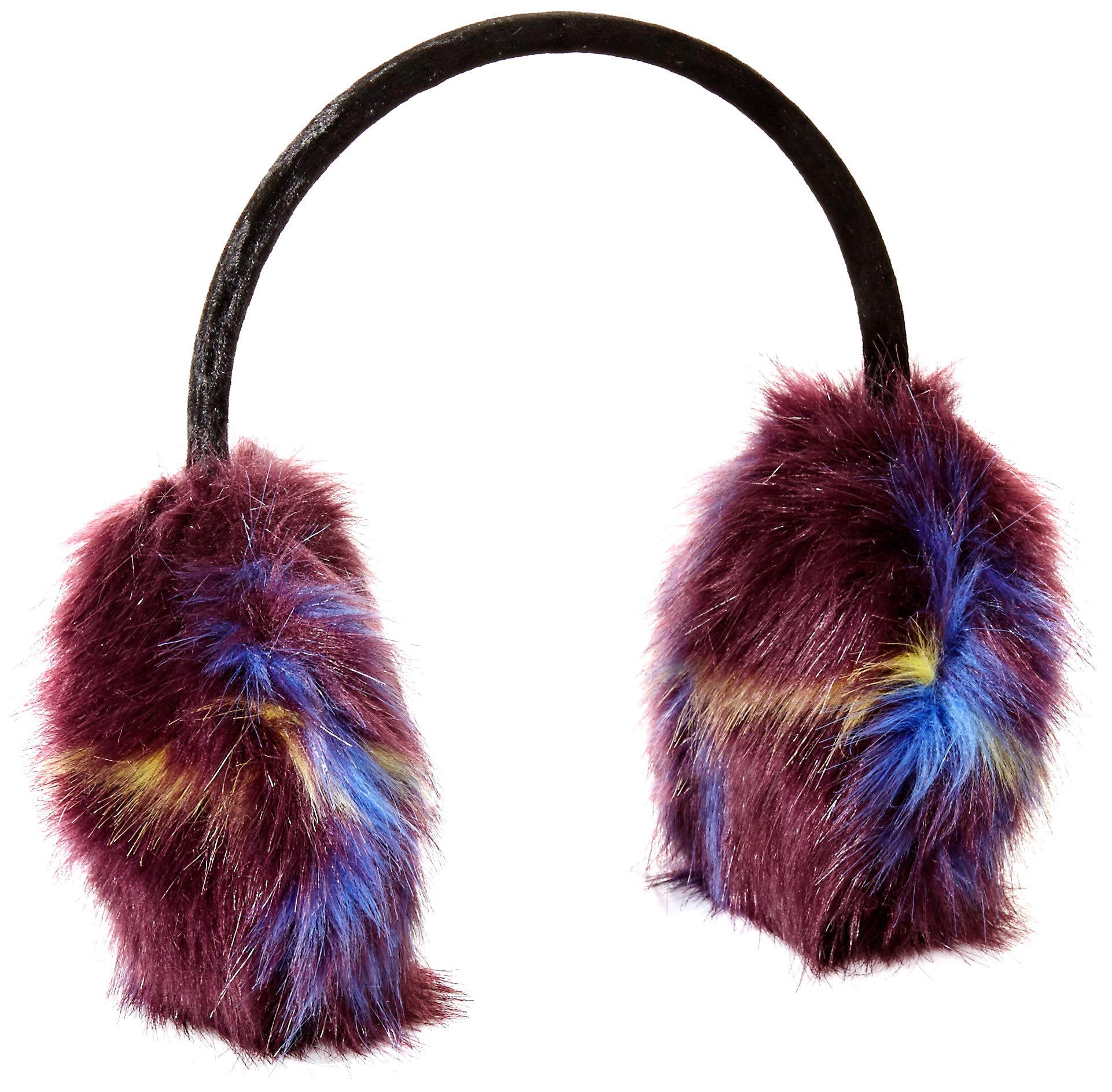 Orchid Row Women's Fashion Faux Fur Earmuff Purple O/S