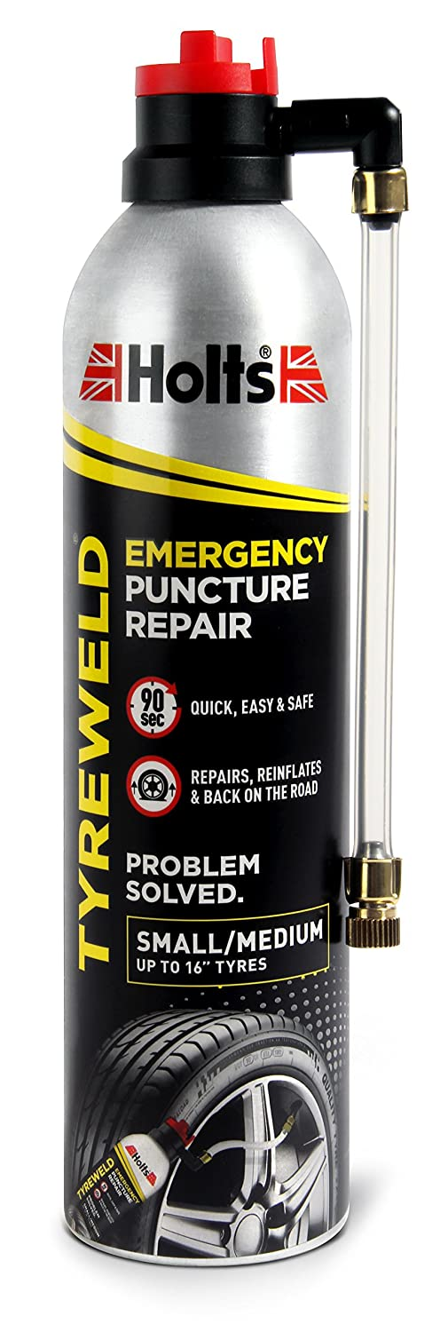 Holts HT3YA Tyreweld di emergenza, 400 ml, per riparazione foratura Holt Lloyd International Ltd. B000Y8WB8W
