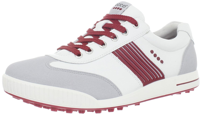 [エコー] メンズゴルフストリートスポーツシューズ 10 mens_us Concrete/White/Brick B007TXAT5C