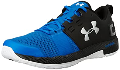 under armour outlet shoes. under armour men\u0027s ua commit tr ultra blue, black and metallic silver multisport training shoes outlet l