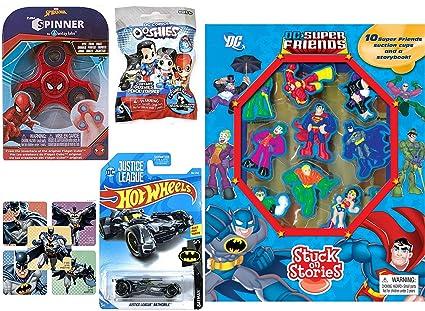 Amazon.com: Heroes Comics 2019 - Juego de ruedas de succión ...