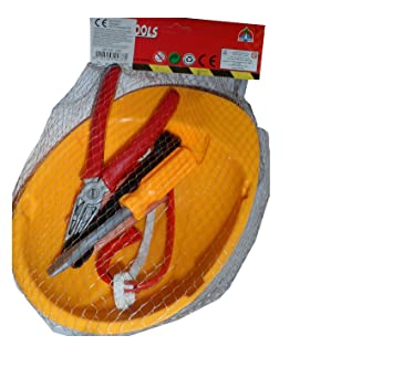 Werkzeugset Helm Bauarbeiterhelm Fur Kinder Bauhelm Im Netz Ca