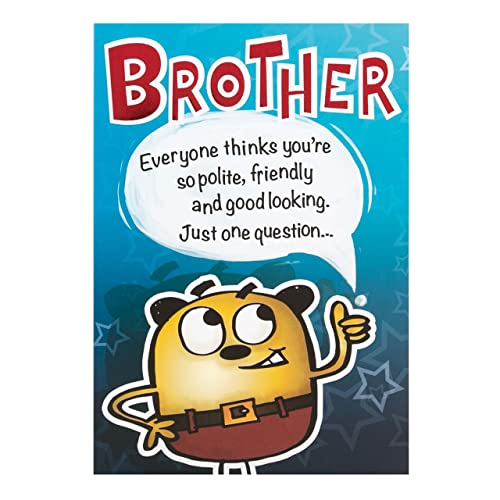 Birthday Cards For Brother: Amazon.co.uk