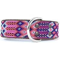 G Collar artesanal grande grueso hecho en Chiapas, México