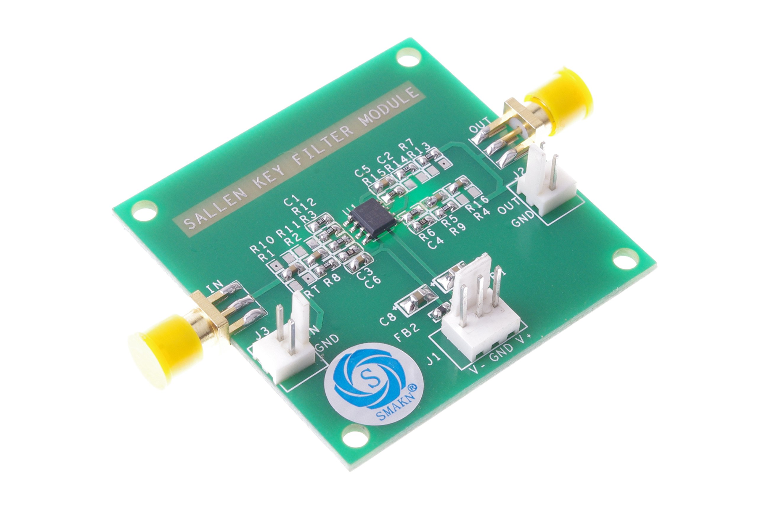 SMAKN® Fourth Active Filter High-pass filter Signal Conditioning Module