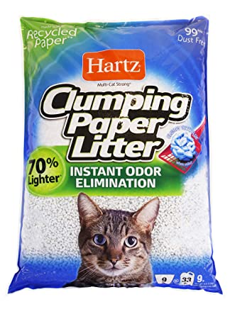 Amazon.com: Hartz Multi-Cat - Lote de arena de papel para ...