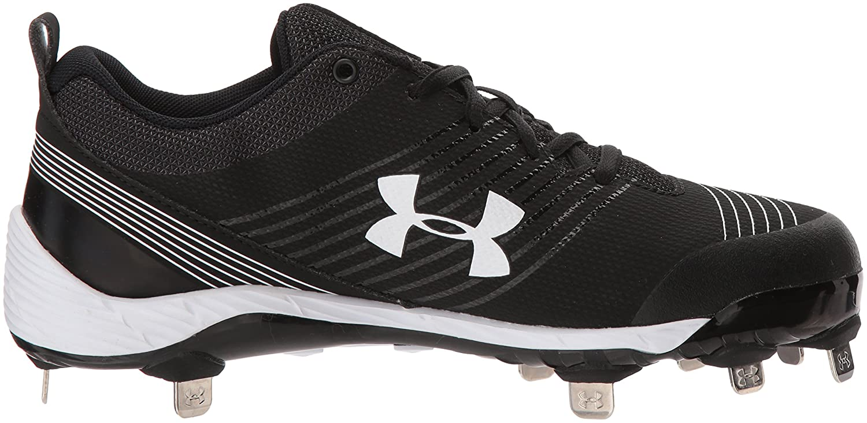 Under Armour Women's Glyde St Softball Shoe B06XCLJKGK 7 M US|Black (011)/Black