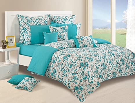 Buy Swayam Printed Fitted Bed Sheet Set Online At Low Prices In