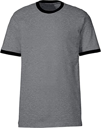 Zocca - Camiseta para hombre gris oscuro/negro L: Amazon.es ...