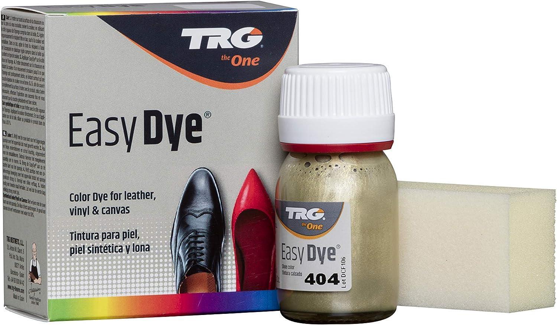 TRG The One - Tinte para Calzado y Complementos de Piel | Tintura para zapatos de Piel, Lona y Piel Sintética con Esponja aplicadora | Easy dye #404 ...