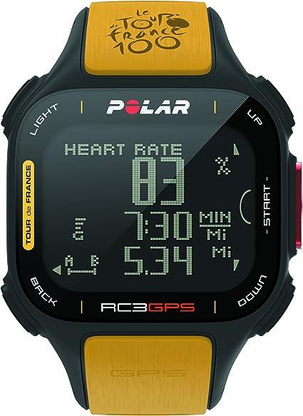 Polar RC3 GPS Tour de France - Reloj con pulsómetro y GPS ...