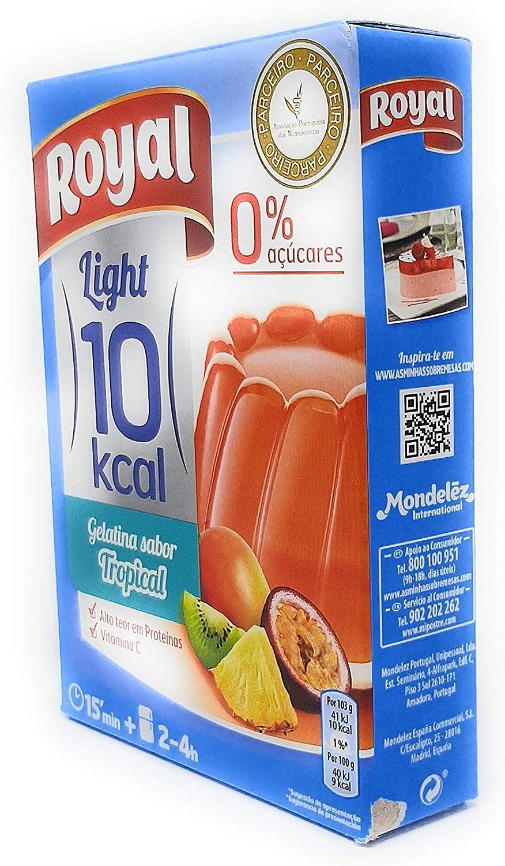 Royal - Gelatina Tropical Light - por 1 litro: Amazon.es ...