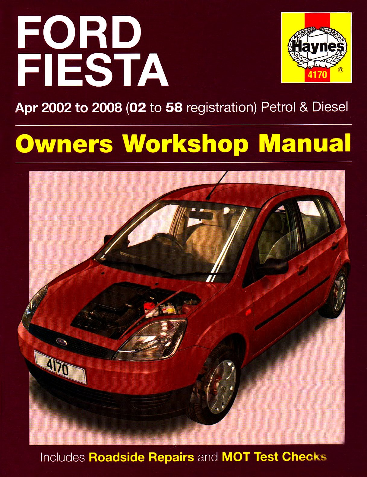 Ford Fiesta Owners Workshop Manual: 2002 to 2008 (Haynes Service and Repair  Manuals): Amazon.co.uk: R. M. Jex: 0699414004454: Books