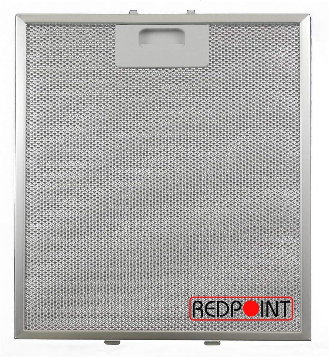 Filtro de aluminio para campanas 267 x 305 x 9 mm - Adaptabilidad:
