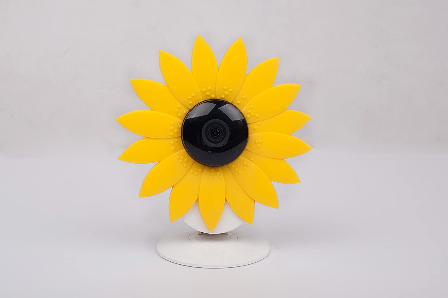 Hide-Your-Cam Yi Home Cam Security Camera Camouflage Cover Skin Case Disguise Protection Decoration Sun Flower Also Fits on Nest Cam