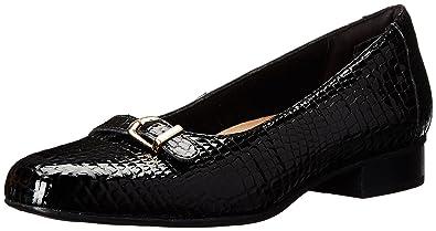 Clarks Women's Keesha Raine dress Pump, black Crocodile Patent Leather, ...