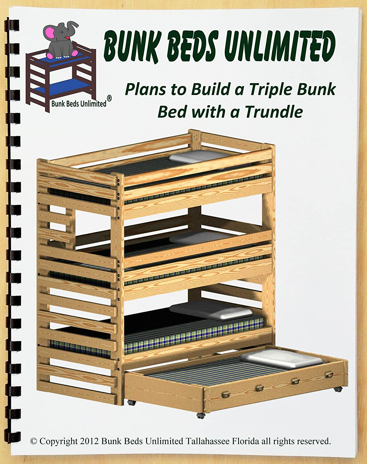 triple bunk diy woodworking plan to build your own extratall with trundle bed and hardware kit for bunk and trundle to make a quadruple bunk bed that