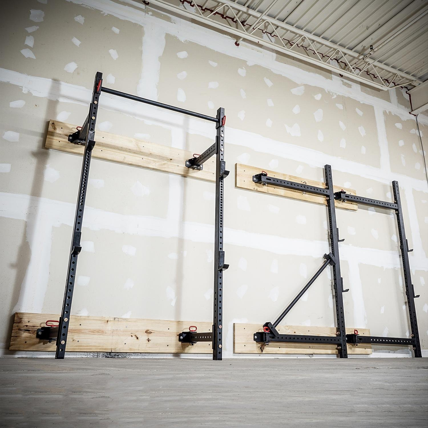 Titan Fitness T-3 Series Fold Back Power Rack 41'' Deep Wall Mounted Laser Cut by Titan Fitness (Image #9)