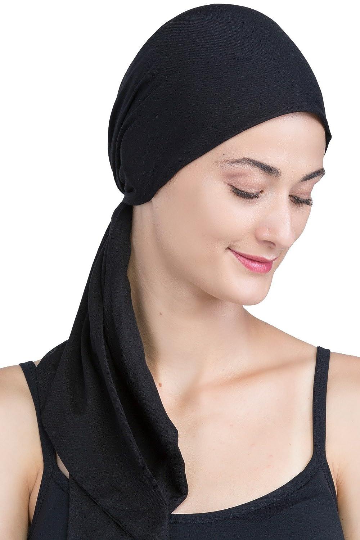 Deresina Headwear Facile legame testa sciarpe per la perdita di capelli, Cancro, Chemo